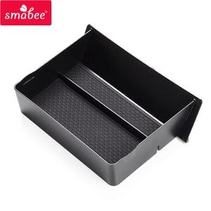 Image 4 - Smabee 中央コンソール収納ボックステスラモデル X モデル 4s 車のインテリアアクセサリー容器ストアコンテンツ引き出しボックス