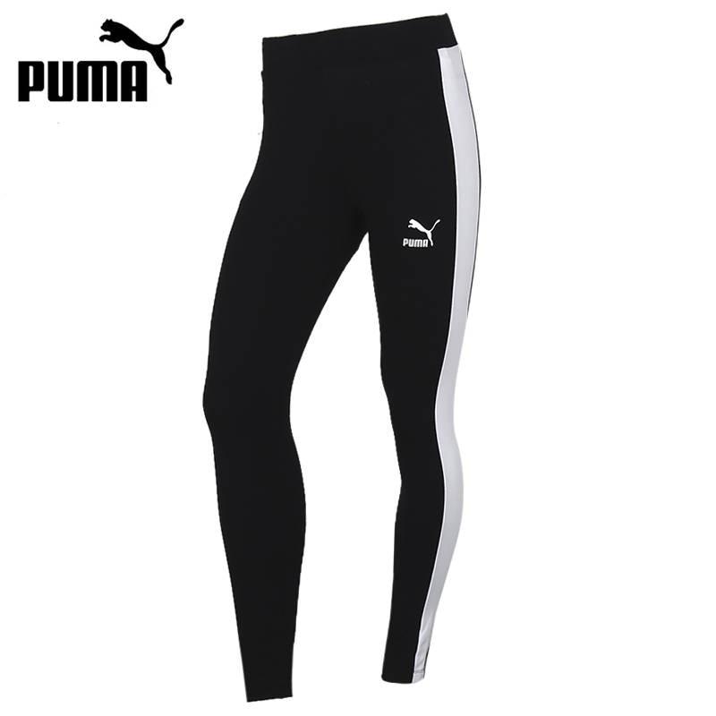 Original New Arrival PUMA Classics Logo T7 MR Legging Women's  Pants  Sportswear