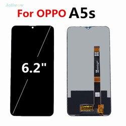 Dla OPPO A5s CPH1909 wyświetlacz LCD z ekranem dotykowym zamiana digitizera ekranu dla oppo Ax5s A5s montaż wyświetlacza lcd