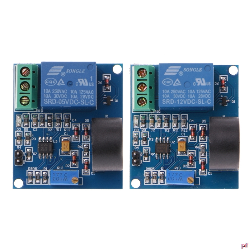 Overcurrent Protection Relay Module AC Current Detection Board 5V Relay