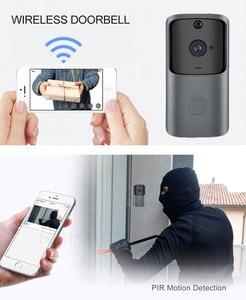 Image 3 - HISMAHO WIFI Doorbell Camera Smart Home Video Intercom IP Doorbell Wireless Remote Doorbell Camera Battery 720P HD Night Vision