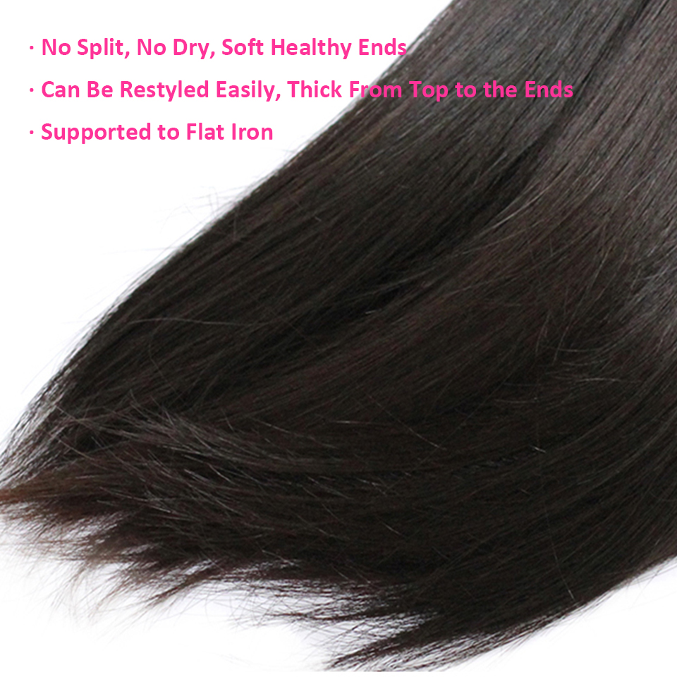 Image 5 - CEXXY 12A Mink Hair Unprocessed Virgin Young Girl Human Weave Virgin Hair Straight Brazilian Hair Weave Bundles Natural Colorhair straighthair weavehair weave bundles -