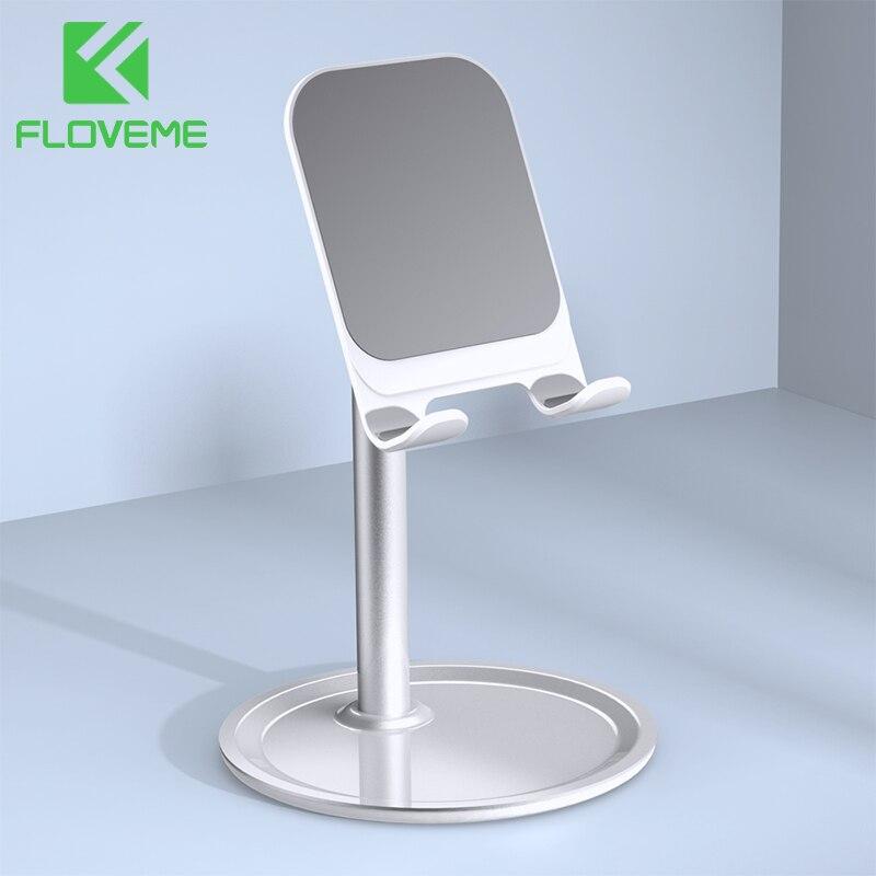 FLOVEME Mobile Phone Desk Holder For IPhone Samsung Xiaomi Universal Desktop Tablet Stand Adjustable Mobile Smartphone Holder