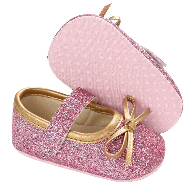 Lovely Newborn Baby Girl Kids Soft Sole Crib Toddler Newborn Shoes