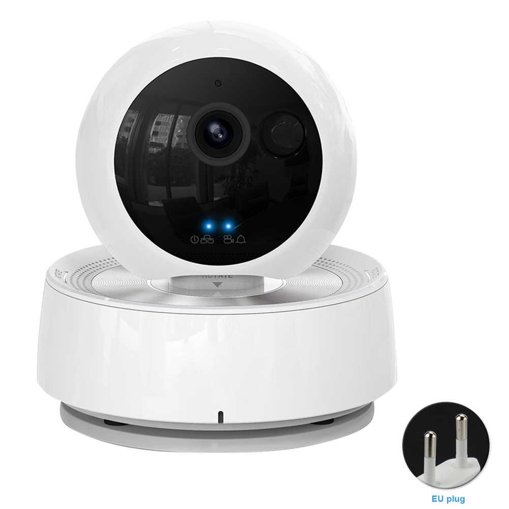 كاميرا IP للرؤية الليلية الذكية واي فاي الكلب القط الحيوانات الأليفة مراقبة أمن الوطن اللاسلكية 1080P HD كاميرا ويب اتجاهين الصوت مراقبة داخلية