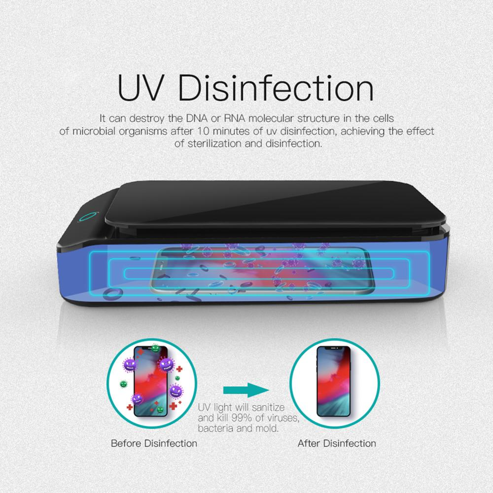 UV Sterilization Box One-touch UV Sterilization Electric UV Nail Sterilizer Box Disinfection Sterilizer Equipment