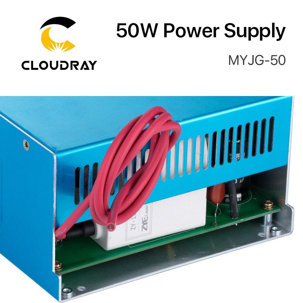 Zasilacz laserowy Cloudray 50W CO2 do grawerki laserowej CO2 - Części maszyn do obróbki drewna - Zdjęcie 3