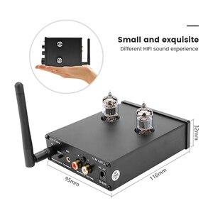 Image 5 - AIYIMA HIFI Bluetooth 5,0 6J1, вакуумный ламповый предусилитель с регулировкой басов и высоких частот для домашнего кинотеатра