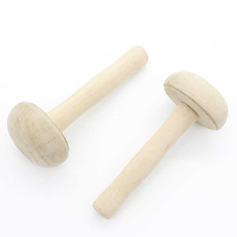 New Wooden Mushroom Rollers Paper Printing Ink Rubbing Use Art Craft Printmaking Tool