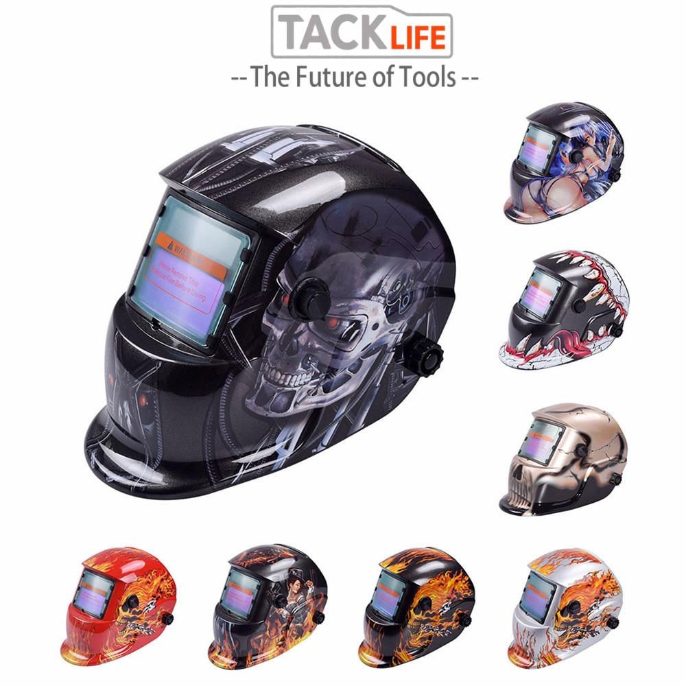 New Solar Auto Darkening LCD Welding Mask Tig Mig Electric Welding Helmet Mask Cap Sale Soldering Supplies