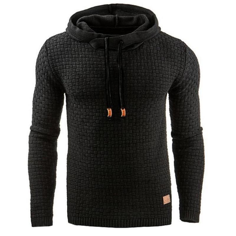 Brand Mens Hoodies Sweatshirts Pullover Men Long-Sleeved Hoody Casual Man Zipper Hooded Sweatshirt For Male Clothing
