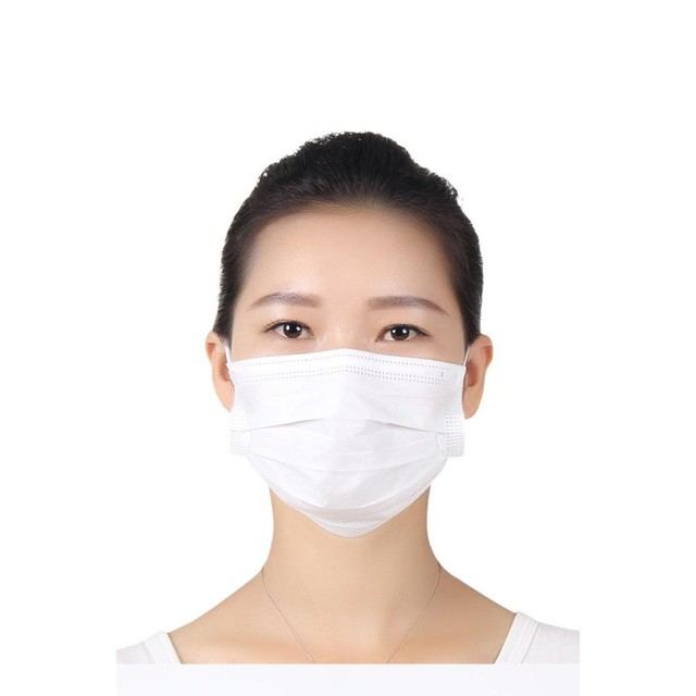 3 Ply Disposable Face Mask Non-woven Disposable Elastic Mouth Soft Breathable Flu Hygiene Face Mask as KN95 KF94 3