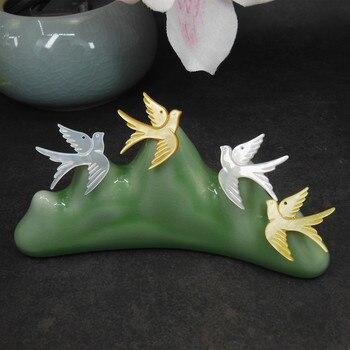 Cuentas de concha de paloma Para hacer joyas, Concha, abalorio de pájaro,...