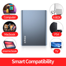 """KPAN N1 2.5"""" HDD External Hard Drive 320gb 500gb 750gb 1tb  2tb  Storage Shockproof Portable Hard Disk Metal Silm 4 Color"""