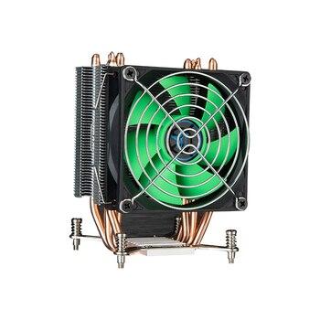 HUANANZHI 38 degrés refroidisseur de processeur pour X79 LGA2011 cartes mères 4 caloducs CPU radiateur ventilateur simple