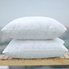 Твердая чистая подушка 45x45 см, забавная мягкая подушка для головы, внутренний наполнитель из полипропилена и хлопка, Подгонянная подушка для заботы о здоровье
