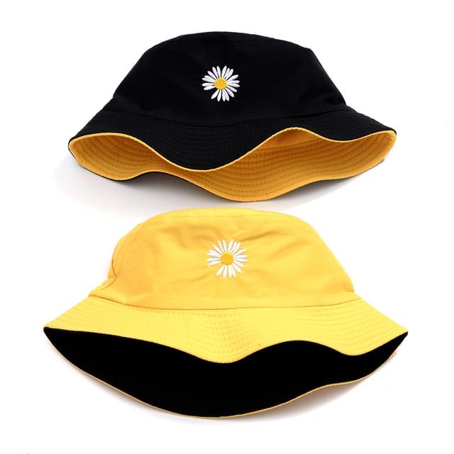 Chapeau réversible en coton