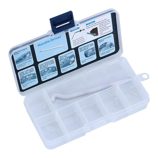 Dental MiniOrthodonticAccessoriesInjectionMould Ortho Lingual Button 1 Handle+6 Mould/set