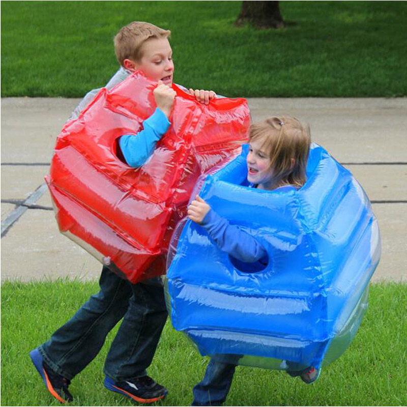 2Pcs Body Bumper Ball Inflatable Bouncer Water Park Pool Outdoor Fun Play Toys Trampoline For Kids Children