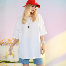 2021 verão manga curta camiseta feminina camisa solta sólida básica t camisa feminina casual o-pescoço hipster oversized tshirt topo 5xl