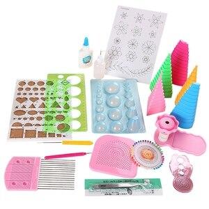 19Pcs Handmade Paper DIY Paper Quilling Kit Tool Paper Quilling Kit Accessories Quilling Tools Set Paper Crafts Decoration Tools DIY Knitting     -