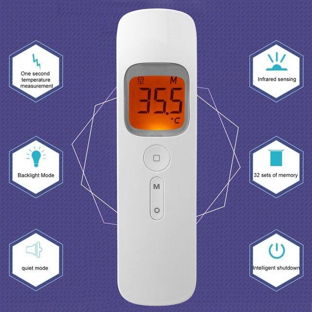 Thermometer Gun Non Contact infrared 6