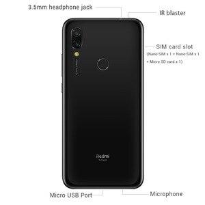 Image 3 - הגלובלי ROM Xiaomi Redmi 7 4GB RAM 64GB ROM כחול נייד טלפון Snapdragon 632 Xiomi 12MP מצלמה 4000mAh סוללה מלא מסך