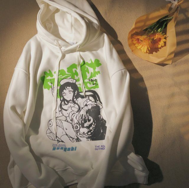 Hoodie for women Plus Size S-3XL Harajuku Spring Autumn Hoodies Women Fashion Printed Sweatshirt Woman Casual Female Sudaderas 6