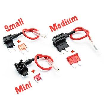 цена на Car fuse splitter, fuse holder, fuse adapter (small/mini/medium)
