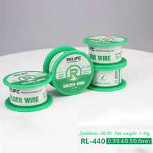 SUNSHINE Medium temperature active solder wire RL-440 easy rosin core low melting point