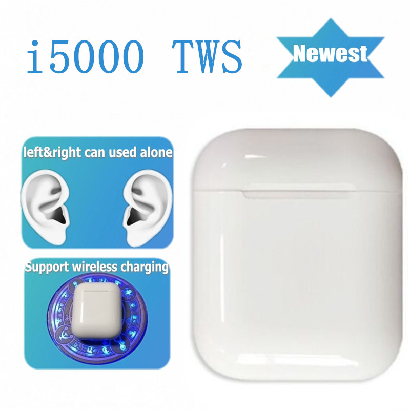 <font><b>Original</b></font> i5000 <font><b>TWS</b></font> 1:1 In-ear Aire 2 Bluetooth Earphone Mini Wireless Earbud Headphone Aire2 Headset PK i20000 <font><b>i30000</b></font> i40000 image