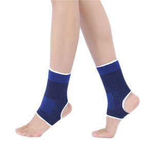 1 PCS Ankle Foot Elastic Compression Wrap Sleeve Bandage Brace Support Protection Sports Relief Pain Foot Outdoor equipment 7