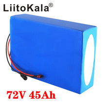 LiitoKala 72V 45Ah battery 72V electric bicycle battery 72V 2000W electric scooter battery 72V lithium battery pack with 30A BMS kluosi 7s5p 24v battery 29 4v 17 5ah ncr18650ga li ion battery pack with 20a bms balanced for electric motor bicycle scooter etc
