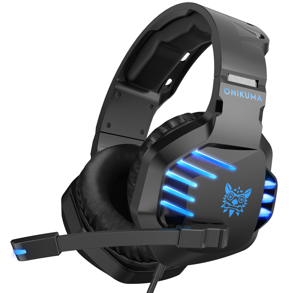 Color : Multi-Colored, Size : M Gaming Headset with Microphone Gaming Headset 3.5mm Wired Control Stereo High Headphones with Noise canceling Microphone