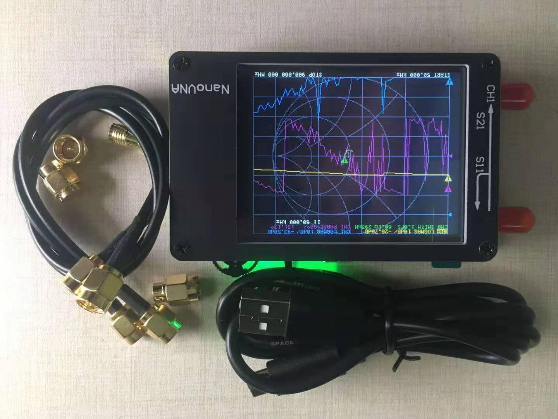 NanoVNA Vector Network Analyzer 2.8 Inch VSWR LCD 50KHz-900MHzHF VHF UHF