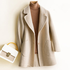 100% Wool Coat Femal...