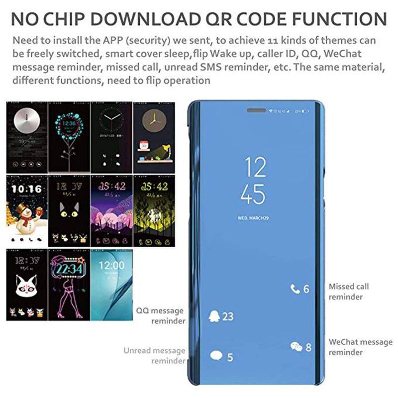 Smart Mirror Case For Samsung Galaxy A51 A71 A50 A70 S20 Plus Ultra S10E S8 S9 S10 Plus Lite A30 A10 A20S A10S A80 A90 Case Cov