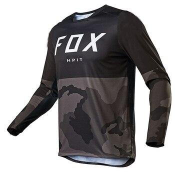 2020 camiseta de Motocross mtb cuesta abajo jeresy fxr ciclismo bicicleta de...