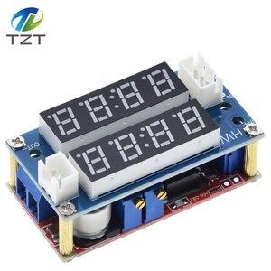 Image 4 - TZT XL4015 5A قابل للتعديل الطاقة CC/CV تنحى تهمة وحدة LED سائق الفولتميتر مقياس التيار الكهربائي ثابت الجهد المستمر