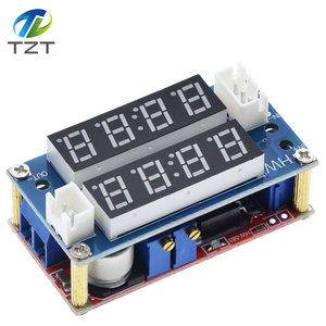 Image 4 - TZT XL4015 5A מתכוונן כוח CC/קורות חיים צעד למטה הטעינה מודול LED Driver מד מתח מד זרם קבוע זרם קבוע מתח