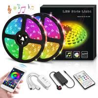 10M RGB LED Strip Light APP IR WIFI Controller SMD 5050 Waterproof RGB Tape Ribbon diode led Strips Light Flexible Stripe Lamp