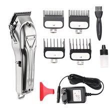 Профессиональный триммер для волос с дисплеем, водонепроницаемая Мужская машинка для стрижки волос, машинка для стрижки волос, электрический триммер для стрижки волос