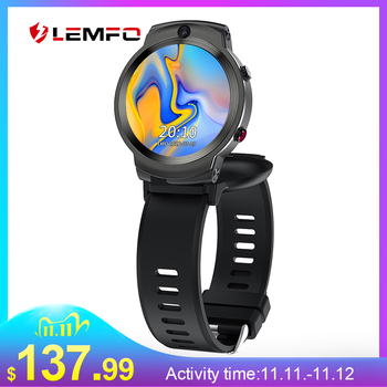 LEMFO LEM13 1.6 Inch Rotating Screen Face ID Smart Watch Android 4G 2020 3GB 32GB 1280Mah Battery 8MP Dual Camera Smartwatch Men