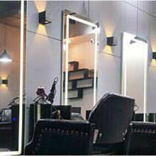 Гулинг Парикмахерская с полным зеркало в полный рост зеркало для волос настенный светодиодный прямоугольное зеркало