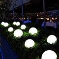 Водонепроницаемый 16 цветов садовые огни мяч светящийся ночник Наружное освещение лампы лужайки вдоль дорожки  на участке бассейн  Пруд све...