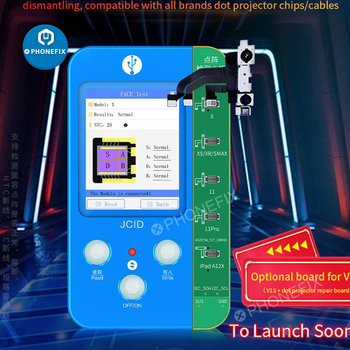 JC V1S Dot проектор для Iphone Face ID Fix Фоточувствительный оригинальный цветной сенсорный Baseband логический аккумулятор сканер отпечатков пальцев