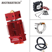 BIGTREETECH Mixed Color Hotend 12V/24V Heater With Fan kits Double Colors High Quality 3D Printer Parts For Titan MK8 Extruder