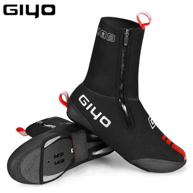 עמיד למים Windproof צמר רכיבה על אופניים כביש אופני מנעול נעלי מכסה תרמית אופניים רובוטים חורף כביש אופני נעלי כיסוי מגן