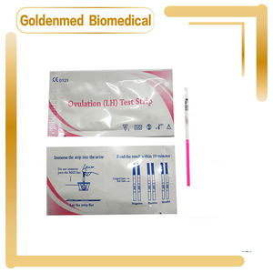 50pcs Household PH Test Strip Indicator LH Test Paper For Water Saliva and Urine Testing Measuring Pregnancy(China)