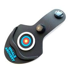 1pc recurvo arco membro proteção tiro com arco quebrar almofada de borracha protetor sobre os sapatos pé para longbow caça tiro acessórios
